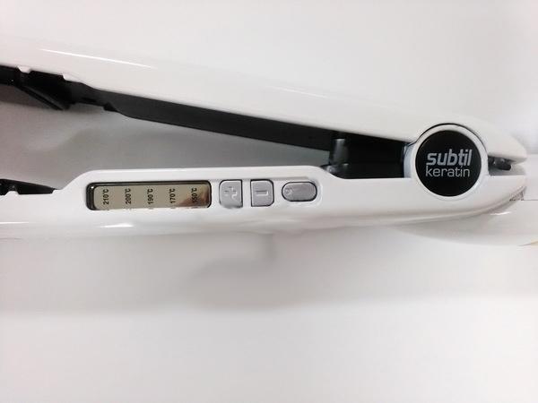 Утюжок Laboratoire Ducastel с цифровым индикатором температуры, 25мм, белый - 1