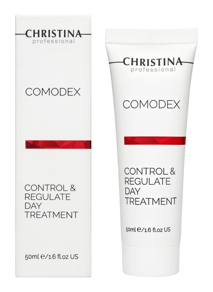 "CHRISTINA Comodex Control Regulate Day Treatment - Дневной гель ""Контроль и стабилизация"" - 1"