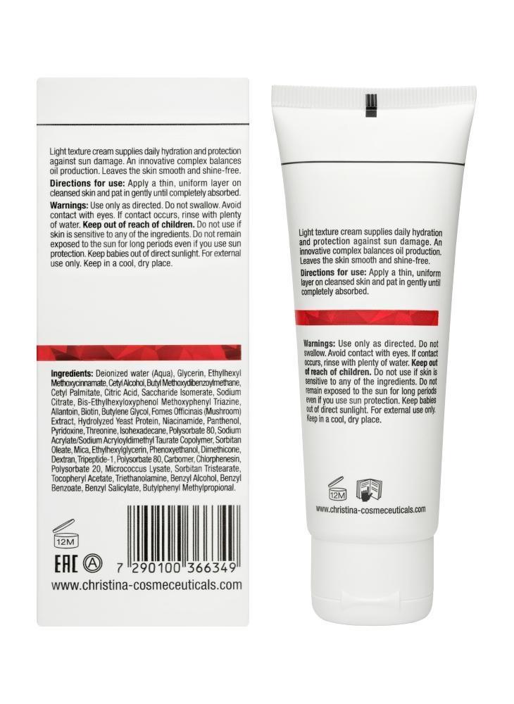 CHRISTINA Comodex Mattify Protect SPF15 - Солнцезащитный крем с матовым эффектом для проблемной кожи - 2