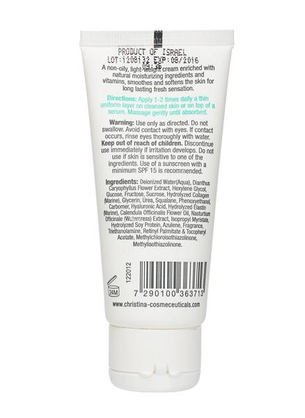 CHRISTINA Elastin Collagen Placental Enzyme Moisture Cream - Увлажняющий крем для жирной и комбинированной кожи - 1