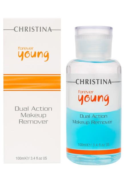 Гель для снятия макияжа с глаз - Christina Forever Young Dual Action Make Up Remover - 1