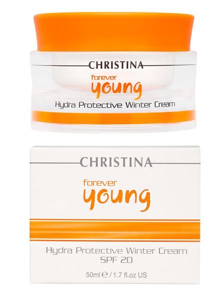 Christina Forever Young Hydra Protective Winter Cream SPF-20 - Защитный крем для зимнего времени года с СПФ-20 - 1