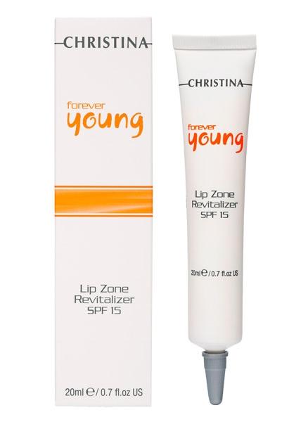 Крем для ухода за губами - Christina Forever Young Lip Zone Treatment - 1