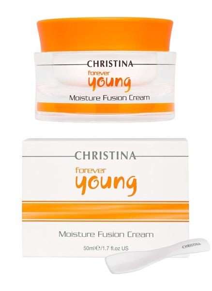 Крем для интенсивного увлажнения кожи - Christina Forever Young Moisture Fusion Cream - 1
