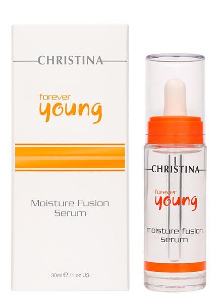 Сыворотка для интенсивного увлажнения кожи - Christina ForeverYoung Moisture Fusion Serum - 1