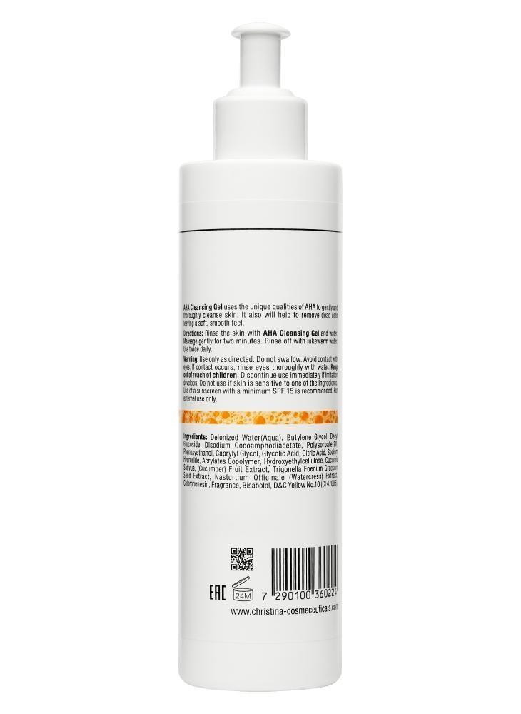 CHRISTINA Fresh AHA Cleansing Gel - Мыло с альфагидроксильными кислотами - 1