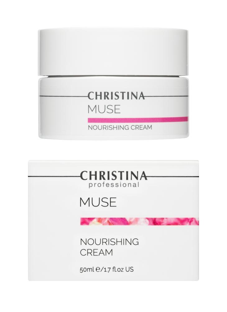 CHRISTINA Muse Nourishing Cream - Питательный крем для лица, шеи и зоны декольте - 1