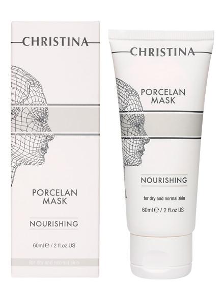 """Christina Porcelan Nourishing Porcelan Mask - Питательная маска """"Порцелан"""" для сухой и нормальной кожи - 1"""