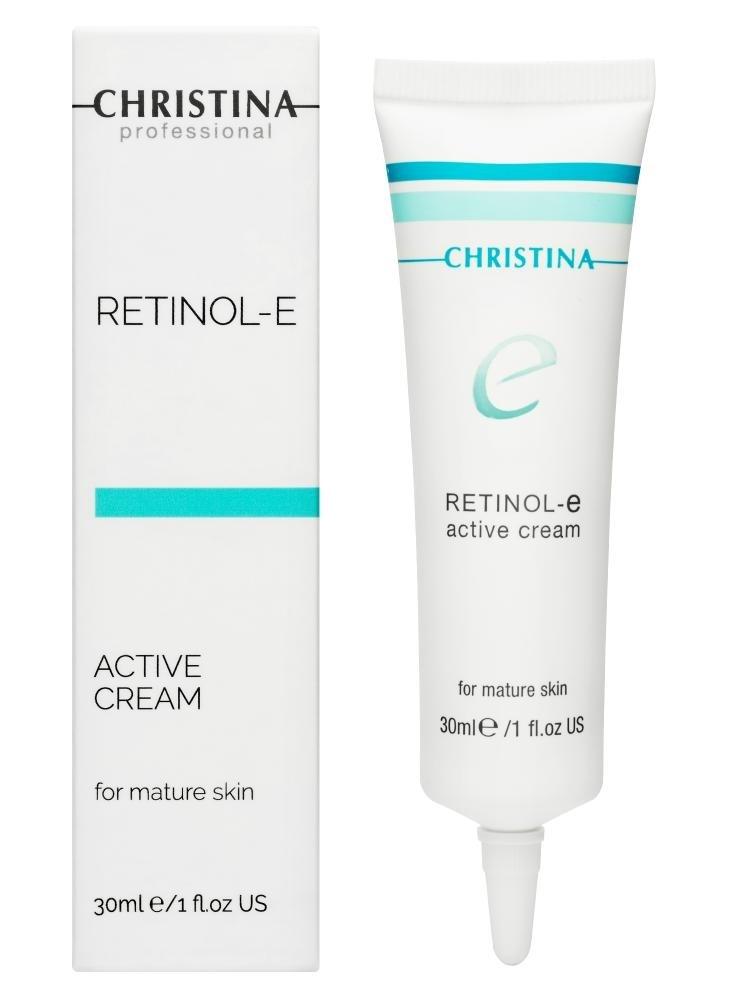 CHRISTINA Retinol E Active Cream - Активный крем для обновления и омоложения кожи лица - 1