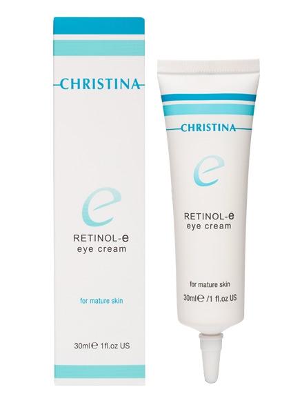 Активный крем для обновления и омоложения кожи лица - Christina Retinol E Active Cream - 1