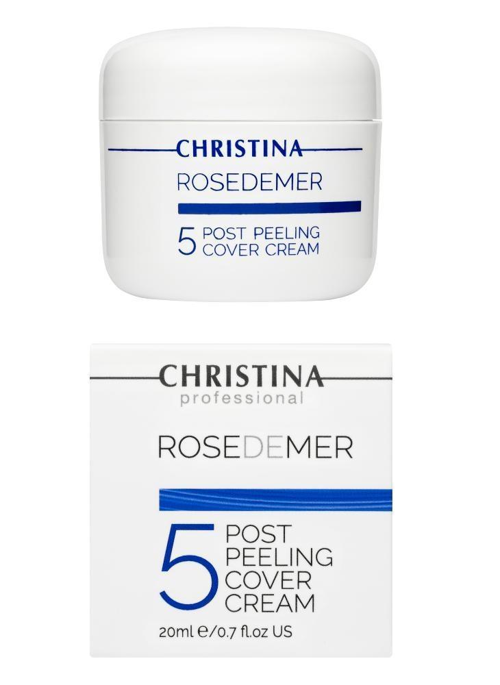 CHRISTINA Rose De Mer 5 Post Peeling Cover Cream - Постпилинговый тональный защитный крем Роз де Мер - 1
