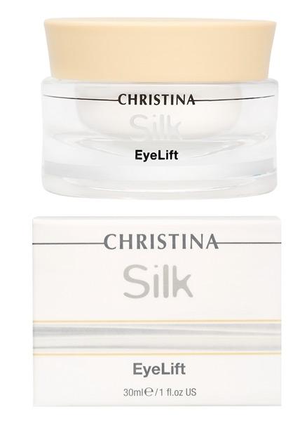 Крем для подтяжки кожи вокруг глаз - Christina Silk EyeLift Cream - 1
