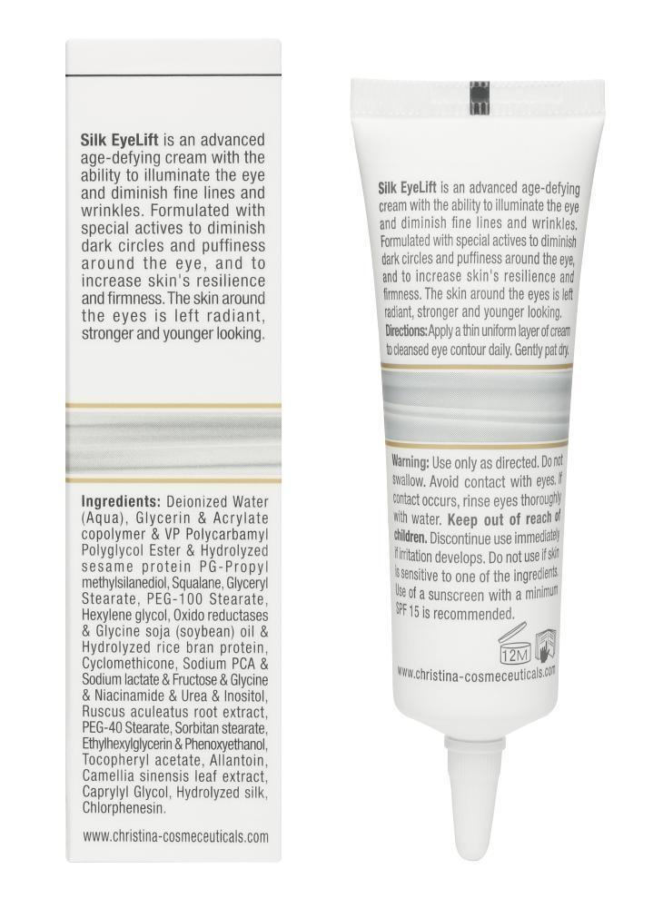 CHRISTINA Silk EyeLift Cream - Крем для подтяжки кожи вокруг глаз - 2