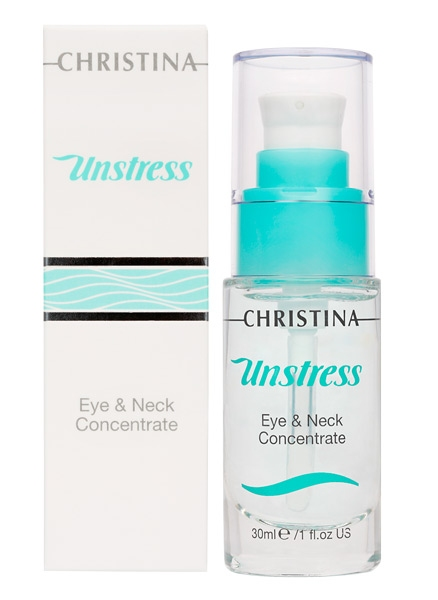 Christina Unstress Eye and Neck concetrate - Концентрат для кожи вокруг глаз и шеи - 1
