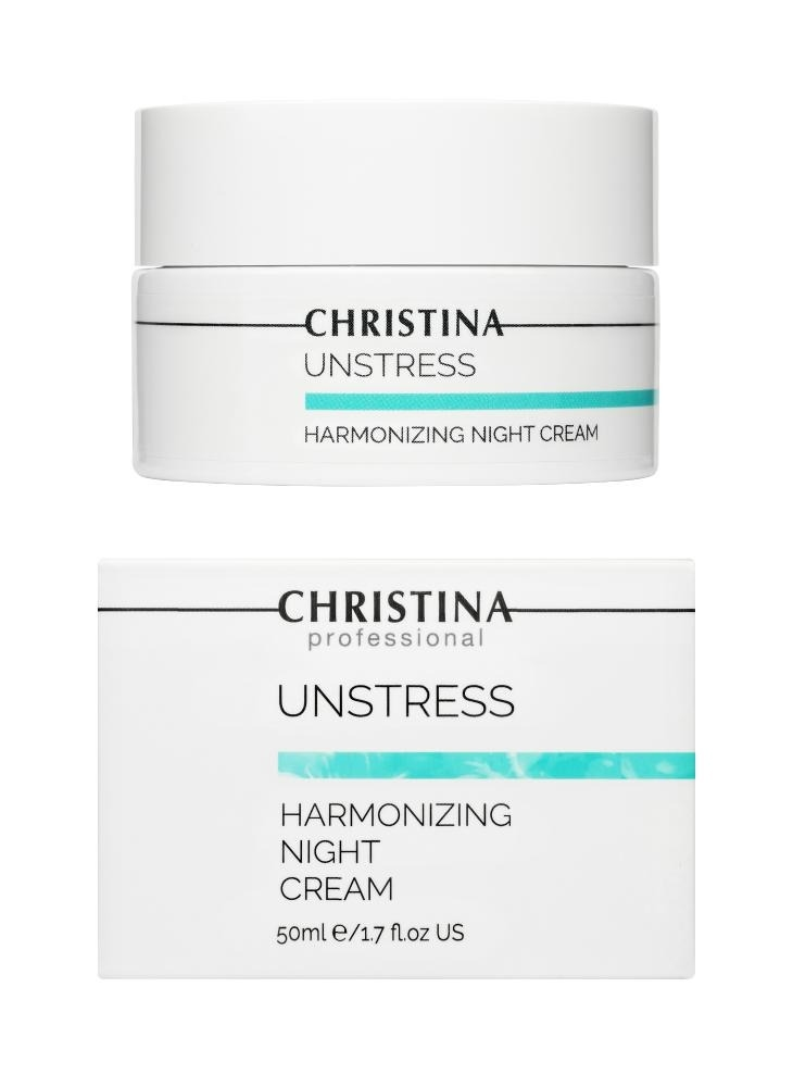 CHRISTINA Unstress Harmonizing Night Cream - Гармонизирующий ночной крем - 1
