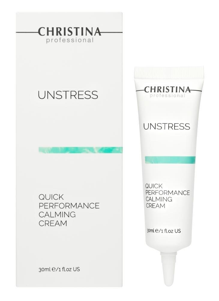 CHRISTINA Unstress Quick Performance calming Cream - Успокаивающий крем быстрого действия - 1