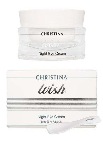 Ночной крем для зоны вокруг глаз - Christina Wish Night Eye Cream - 1