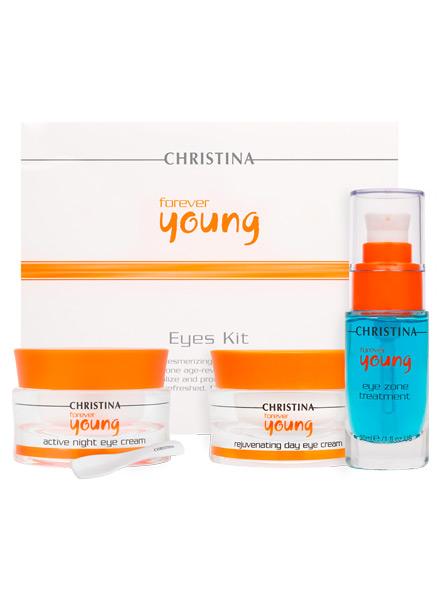 Набор для глаз (3 products) - Christina Forever Young Eyes Kit