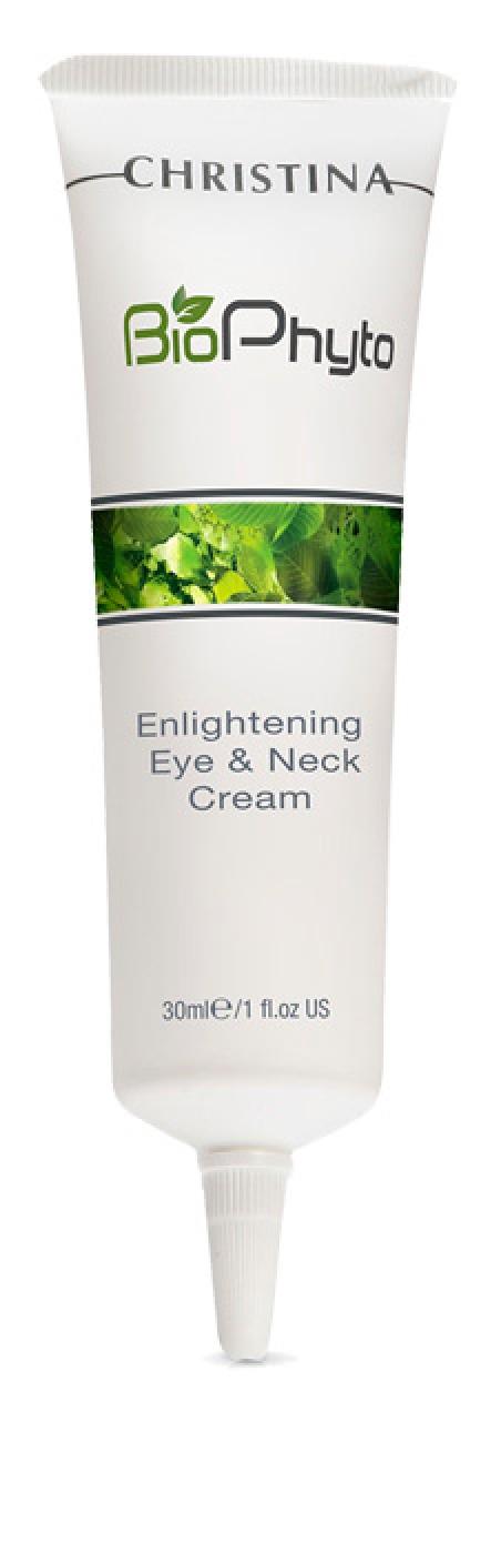 Bio phyto enlightening eye and neck cream - осветляющий крем для кожи вокруг глаз и шеи, 30 мл.