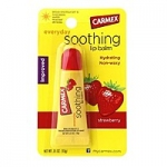 Бальзам для губ Кармекс Carmex Strawberry Flavor Everyday Soothing Lip Balm SPF 15 Tube клубника